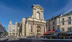 Sunday in the City... Dijon (Burgundy) (capvera) Tags: church churches eglise stetienne stmichel placethéâtre dijon bourgogne burgundy spring summer heath sonyimages architecture renaissance sunday terraces er5477
