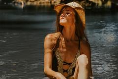 Embracing the positive energy.                       Photographer Richie Kidd (Mary-Mel Knight) Tags: embracing femaleportrait model river unlimitedphotos outdoors feminine nophotoshop naturallight sunshine water summer female watershoot portrait photoshoot