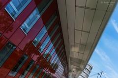 Mitsubishi Hitachi Power (ab-planepictures) Tags: duisburg innenhafen architektur mitsubishi hitachi power fassade gebäude architecture building deutschland germany