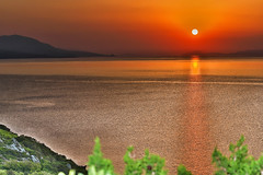 Sunset Mangalavi (Amateur in the Vast field of Photography) Tags: seen macedonia greece group