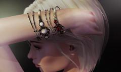 (Kunglers) Sedora bracelets AD (AvaGardner Kungler) Tags: kunglers avakungler avagardnerkungler secondlifejewelry statementjewelry cosmopolitansl digitaljewelry bracelets diamond virtualworlds