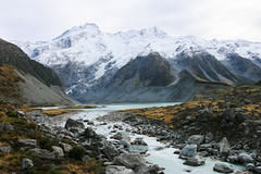 Mount Cook, Aoraki national park (thanapol vongvirat) Tags: mountcook newzealand newzealandroadtrip newzealandsouthisland travel tracking trackinginnewzealand travelinnewzealand summitclub summit mountain landscape lake
