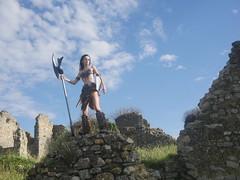 Shooting Skyrim - Ruines d'Allan -2017-06-03- P2090579 (styeb) Tags: shoot shooting skyrim allan ruine village drome montelimar 2017 juin 06 cosplay
