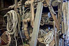 Inside Shipwright's Workshop (sswj) Tags: shipwright nautical chinacamp marincounty chinacampvillage scottjohnson nikon d600 nikkor28300mm dslr fullframe availablelight existinglight composition boatgear historicbuilding northerncalifornia sanrafael sanpablobay