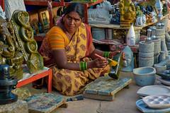 Shop in the name of Love :) (Lakshmi. R.K.) Tags: nikon d 5200 2015 belur bangalore candid portrait people face shop
