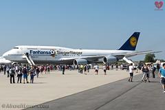 Lufthansa Boeing 747-800 *Fanhansa Siegerflieger* (AircraftLovers.com) Tags: lufthansa boeing 747830 747800 748 b748 747 b747 dabyi potsdam special livery speciallivery fanhansa siegerflieger fanhansasiegerflieger planespotting aviation avgeek airport berlin berlinairport schönefeld schönefeldairport schonefeld schonefeldairport schoenefeld schoenefeldairport sxfairport sxf eddb ber aircraft flugzeug plane aircraftlovers aircraftloversde aircraftloverscom bbi willybrandt ila ila2016 ilaberlin ilaberlinairshow airshow