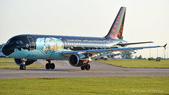 Brussels Airlines (Tin Tin) Airbus A320-214 OO-SNB (StephenG88) Tags: manchesterairport man egcc 23l 23r boeing airbus 19thjune2017 19617 61917 brusselsairlines tin tintin bel sn herge a320 a320200 a320214 oosnb
