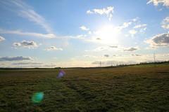 (danielkubarevlife) Tags: minsk belarus field sun sky cloud