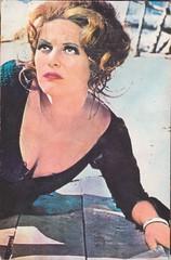 Claudia Cardinale (Véronique3) Tags: claudiacardinale casafilmuluiacin acin postcard scan vintage claudia cardinale