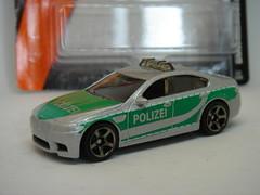 MATCHBOX BMW M5 NO6 GERMAN POLIZEI CAR 1/64 (ambassador84 OVER 15 MILLION VIEWS. :-)) Tags: matchbox bmwm5 diecast bmw policecar polizei