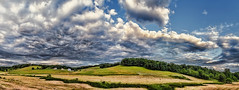 IMG_4109-14Ptzl1TBbLGER (ultravivid imaging) Tags: ultravividimaging ultra vivid imaging ultravivid colorful canon canon5dmk2 clouds sunsetclouds stormclouds scenic rural vista farm fields evening panoramic pennsylvania pa landscape sky