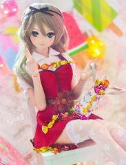 Candy! (Rjdolls) Tags: dollfie dd dream doll bjd dollfiedream aoko aozaki candy sweets عيد eid beautiful cute color colorful