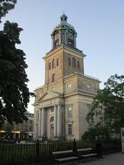 July evening at Gothenburg Cathedral, Sweden (Paul McClure DC) Tags: gothenburg göteborg sweden sverige july2015 cathedral architecture historic