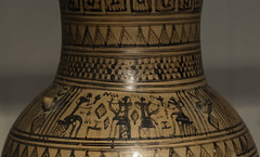 "Greek Archaic Pottery – Attic LG Pitcher (egisto.sani) Tags: atene lgp man museoarcheologiconazionale vasi pitcher ""the rattle group"" ""attic pottery"" ""ceramica attica"" ""greek ""ceramica greca"" ""arte ""greek art"" ""late geometrical period"" ""periodo tardo geometrico"" ""lg athens ""national archaeological museum"" ""museo archeologico nazionale"" nm 18542"