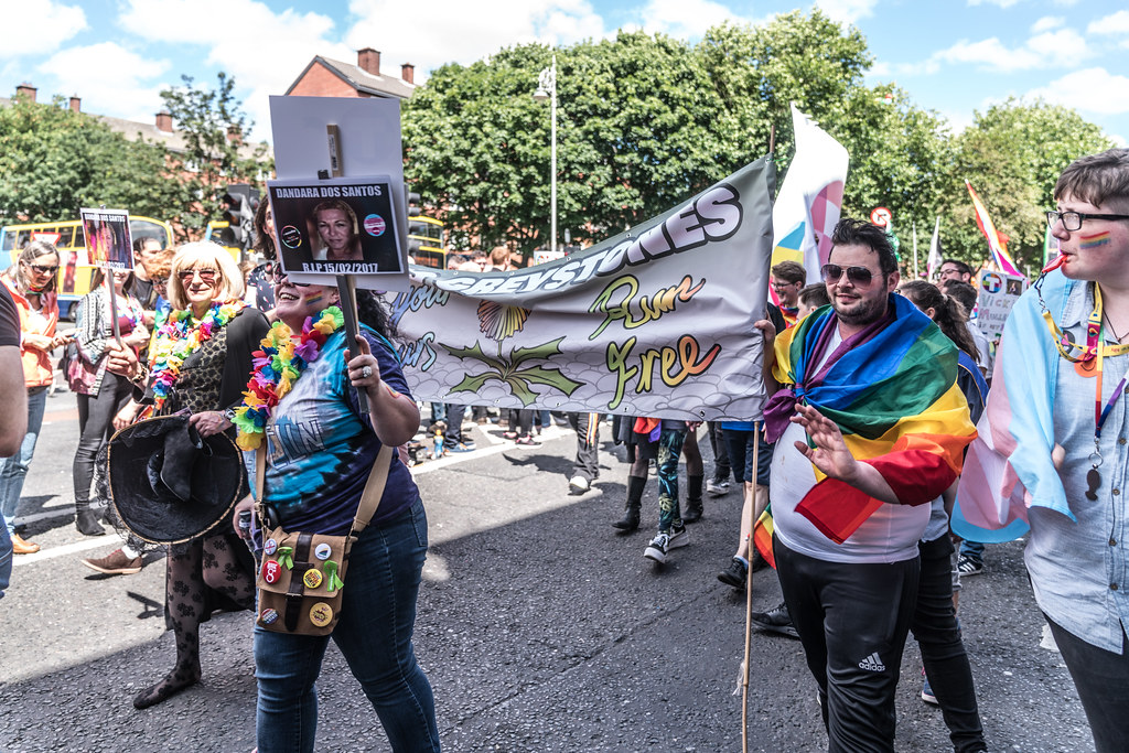 LGBTQ+ PRIDE PARADE 2017 [ON THE WAY FROM STEPHENS GREEN TO SMITHFIELD]-130123
