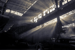 Steel-rolling mill (Sandronn) Tags: metinvest mmki метинвест ммки workshop steel heavy foundry industrial metallic manufacturing production plant iron factory ironworks metallurgy work crane industry steelworks technology manufacture metal equipment melting metallurgical sheetrolling
