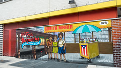 """Casita Maria - Las Tres Hermanas (Evelina, Lilian y Elba)"" Mural (2017) by Tats Cru, South Bronx, New York City (jag9889) Tags: 2017 20170608 allamericacity art bg183 bio bronx cart center education foxhurst graffiti graffitiartist how icecream mural muralist nosm ny nyc newyork newyorkcity nicer outdoor painting puertorico simpsonstreet southbronx streetart tagging tatscru thebronx themuralkings usa umbrella unitedstates unitedstatesofamerica wall woman jag9889"