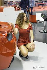 De rojo Ferrari-Ferroforma 2017 Bilbao (mercenario.one) Tags: ferroforma bilbao feria metal rojo ferrari modelo belleza azafata moda