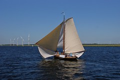 DSC05923 (Fotofreaky2013 (BUSY)) Tags: botter botterrace bunschotenspakenburg bunschoten spakenburg eemmeer boat boot ship schip water zeil zeilen