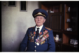 Halimon Ivan Fedorovich, a veteran of the Great Patriotic War, participants in the battle of Stalingrad