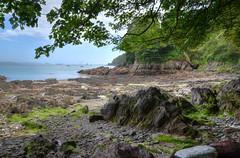The coast at Cawsand, Cornwall (Baz Richardson (trying to catch up)) Tags: cornwall cawsand plymouthsound coast rocks beaches