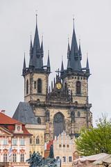 Prague towers (Txulalai) Tags: praha prague praga chequia republicacheca arquitectura travel iglesia church torre tower gótico sonyilce6000 sonya6000 sony sonyalpha6000