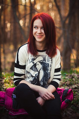 IMG_7467-1 (serj k.) Tags: girl beauty outdoor portait redhead forest canon 6d 50mm 14