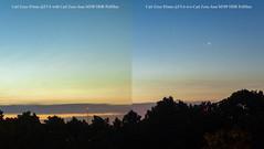 Testing Polarization. (Sakuto) Tags: polarization filter test sunrise colors