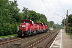 P1260391 (Lumixfan68) Tags: eisenbahn züge lokzüge voith gravita 10bb baureihe 261 dieselloks rangierloks deutsche bahn db cargo