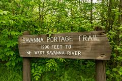 Savanna Portage Trail Sign (Tony Webster) Tags: mcgregor minnesota savannaportage savannaportagestatepark savannaportagetrail sign signage spring statepark summer unitedstates us wmc1830