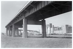 Skyway (SixthOrder) Tags: 716 leitz vintage elmar ilford fp4 m2 leica buffalo skyway