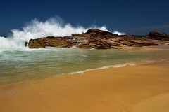 Big Swell at Dunbogan Beach (Paul Hollins) Tags: aus australia camdenhead dunbogan newsouthwales nikond750 seascape midnorthcoast waveaction