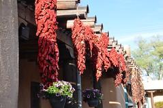 3-094 Ristras (megatti) Tags: albuquerque desert haciendadelrio newmexico nm peppers restaurant ristras