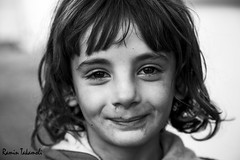 Smile (ramintakamoli) Tags: war children kids refuges isis iraq fight kurdistan yazidi people portrait yizadi outdoor clothes rain day refugees blackandwhite monochrome bnw monoart bnwsociety bwlover bwphotooftheday photooftheday bw bwsociety bwcrew bwwednesday bwstylesgf iroxbw igersbnw bwstyleoftheday monotone monochromatic noir fineartphotobw love child
