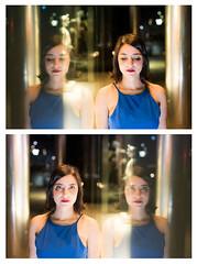 (Antonio Gutiérrez Fotografía) Tags: antoniogutierrezfotografia dinamocoworking wwwantoniogutierrezfotografiacom retrato mirada mujer diptico soledad streetphoto color pensar sentir