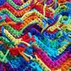 Detail of the scrap yarn crochet ripple blanket (crochetbug13) Tags: crochet crocheted crocheting crochetrippleafghan crochetrippleblanket crochetripplethrow scrapghan yarnscrapcrochet crochetblanket texturedcrochetblanket usewhatyouhave texturedcrochetthrow texturedcrochetafghan crochetthrow crochetafghan