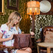 Brown Leather Bag: Colors and Patterns