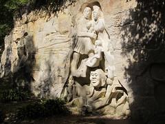 Les Lapidiales, anciennes carrières sculptées, Port-d'Envaux (17) (Yvette G.) Tags: portdenvaux 17 charentemaritime poitoucharentes nouvelleaquitaine sculpture leslapidiales carrière