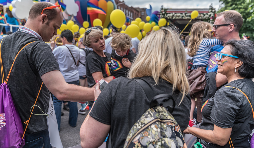 LGBTQ+ PRIDE PARADE 2017 [STEPHENS GREEN BEFORE THE ACTUAL PARADE]-129911