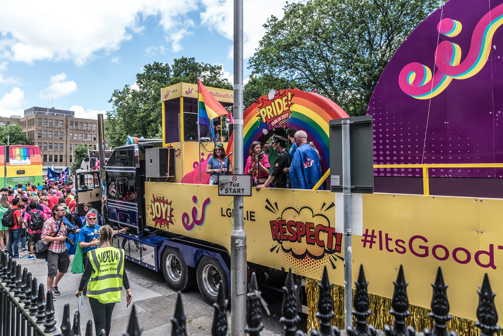 LGBTQ+ PRIDE PARADE 2017 [STEPHENS GREEN BEFORE THE ACTUAL PARADE]-129957
