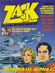 ZACK / 1977 Nr. 20 (micky the pixel) Tags: comics comic heft koralleverlag zack josé cardonamondbasis alpha 1space 1999tv adaptionsfscifiscience fiction
