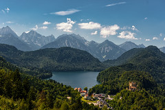 Alpensee (Nir Roitman) Tags: landscape nature mountains mountain travel clouds cloud cloudscape sky skyscape europe water lake gemany alpensee