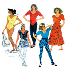 McCalls 3022 dance apparel (FindCraftyPatterns) Tags: mccalls3022 danceleotard wrapskirt longwrapskirt ballet bodysuit sewingpattern dance theater plussize1416uncut