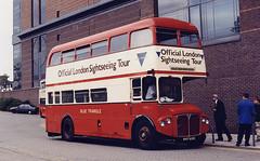 Wright&Biddell(BlueTriangle)-RMS49-NMY632E-WCroydon-ConnexRR-040798a (Michael Wadman) Tags: nmy632e routemaster bea britisheuropeanairways croydon westcroydon bluetriangle