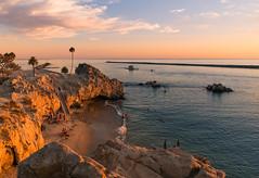 Newport Beach California (meeyak) Tags: beach silhouette dark moody sunset trees piratescove newportbeach newport coronadelmar cdm ocean rocks cliff harbor boats view meeyak sony 28mm a7r2 sonyalpha travel adventure outdoors vacation summer warm hot
