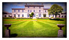 Admiralty House (Lomoish) (PAUL YORKE-DUNNE) Tags: admiraltyhouse mountwise plymouth garden lomoish grass lawn stripes listedbuilding