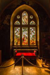 Schloss Drachenburg - Glasfenster