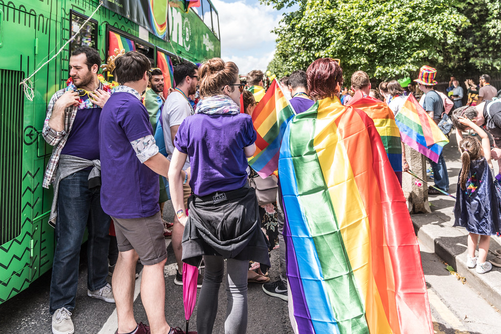 LGBTQ+ PRIDE PARADE 2017 [STEPHENS GREEN BEFORE THE ACTUAL PARADE]-129834
