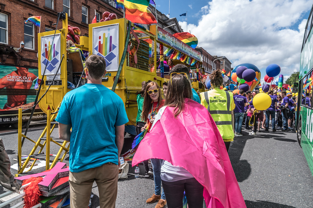 LGBTQ+ PRIDE PARADE 2017 [STEPHENS GREEN BEFORE THE ACTUAL PARADE]-129906