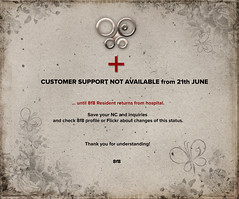 8f8 Creations ***Important Notice*** (iBi 8f8) Tags: sl secondlife virtuallife 8f8 creations ibi notice important absence